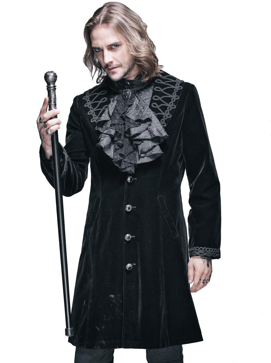 fashion pour gothique gilet hommes long devil 583fab79e0 OXiPTkwuZ