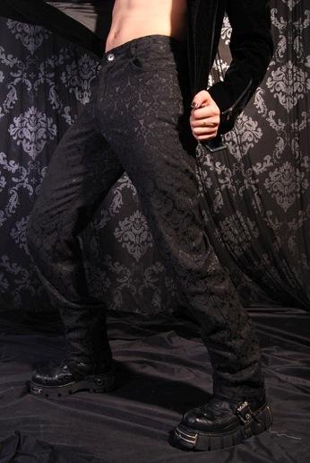 Motif Vintage Noir Pantalon P040020 Aristocrate LVGzSUjqMp